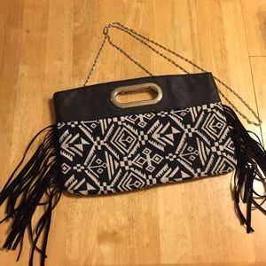 Tribal Print Crossbody/Clutch